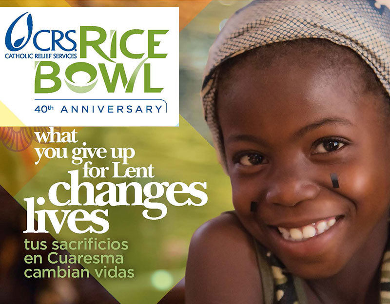 Experience a Life-changing Lenten Journey with CRS Rice Bowl