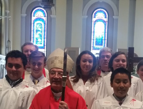 Ten Sacred Heart Confirmation Students Get Confirmed