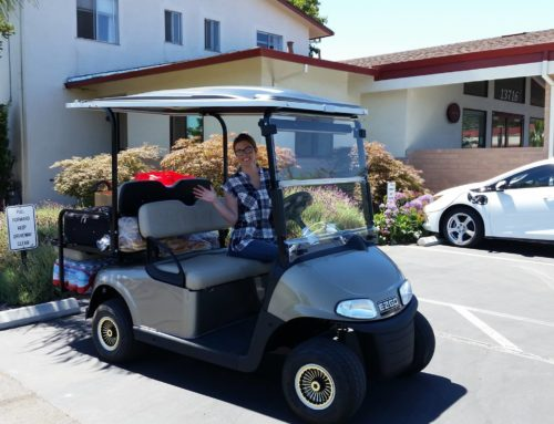 "The New Golf Cart, ""It's Here!"""