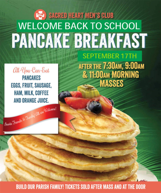 Back-to-School Pancake Breakfast